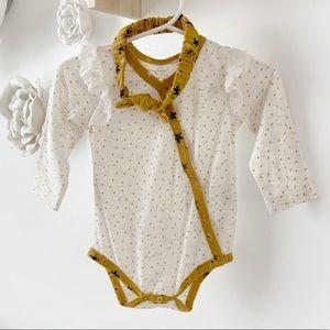 3/$25 Jessica Simpson Baby Girl Bodysuit/Headband